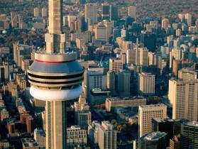 Aerial-View-CN-Tower-Toronto-Ontario-Canada